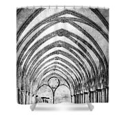 Salisbury Cathedral Cloisters Shower Curtain