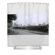 Salisbury Cathedral Shower Curtain