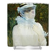 Sally Fairchild Shower Curtain by John Singer Sargent