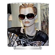 Sally In Shades Shower Curtain
