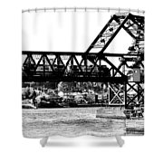 Salmon Bay Bridge Shower Curtain