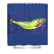 Salmon Of Knowledge Shower Curtain