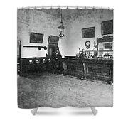 Saloon C. 1890 Shower Curtain