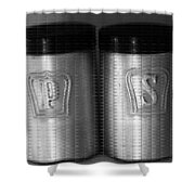 Salt And Pepper Shakers Shower Curtain