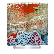 Salt And Sea Shower Curtain