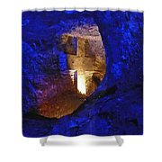Salt Cathedral- Colombia Shower Curtain