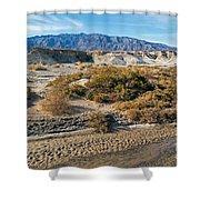 Salt Creek Death Valley National Park Shower Curtain