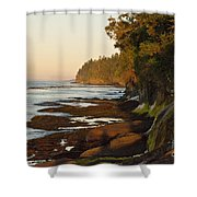 Salt Creek Shore Line Shower Curtain