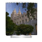 Salt Lake City Temple Shower Curtain