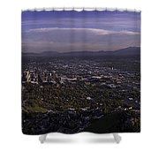 Salt Lake Valley Shower Curtain