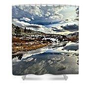 Salt River Pass Shower Curtain