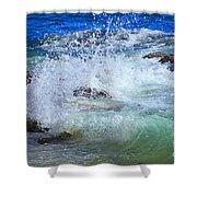 Salt Water Serenade Shower Curtain