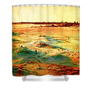 Salted Land Shower Curtain