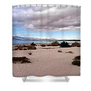 Salton Sea California Shower Curtain