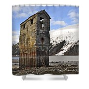 Saltwater Pump House Shower Curtain