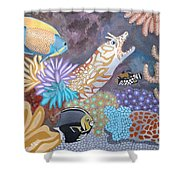 Salty Sea Shower Curtain