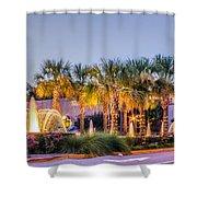 Saluda Avenue At Blossom Street Shower Curtain