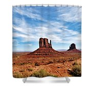 Saluting Sentinels Shower Curtain