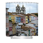 Salvador Brazil The Magic Of Color 2 Shower Curtain