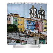 Salvador Brazil The Magic Of Color Shower Curtain