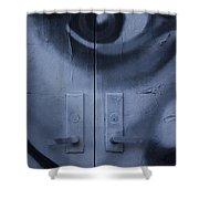 Salvador Dali Doors Graffiti Art Shower Curtain