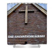 Salvation Shower Curtain by Doug Wilton