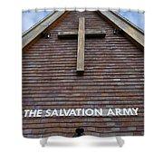 Salvation Shower Curtain by Doug Wilton