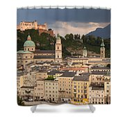 Salzburg After The Storm Shower Curtain