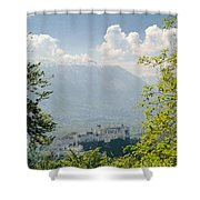 Salzburg Fortress 1 Shower Curtain
