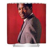 Sam Cooke Shower Curtain