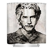 Sam Elliott 3 Shower Curtain