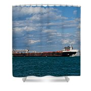 Sam Laud Off Belle Isle Shower Curtain