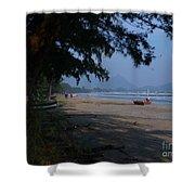 Sam Roi Yod Beach Shower Curtain