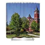 Samford Hall - Auburn University Shower Curtain