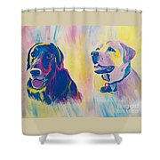 Sammy And Toby Shower Curtain