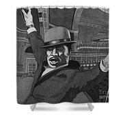 Sammy Davis Jr Shower Curtain