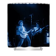 Sammy Plays The Blues In Spokane In 1977 Shower Curtain
