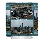 Sample Aerial Photography Services Readme Shower Curtain