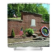 Samuel Huntington Tomb Shower Curtain