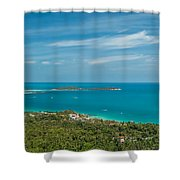 Samui Thailand Shower Curtain