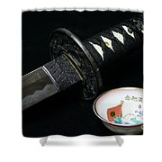 Samurai - The Way Of The Warrior - Bushido Shower Curtain