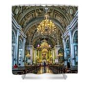 San Agustin Church  Shower Curtain