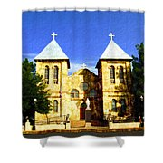 San Albino Church Shower Curtain