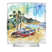 San Andres 01 Shower Curtain