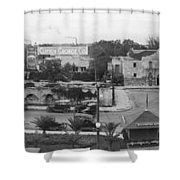 San Antonio 1918 Shower Curtain