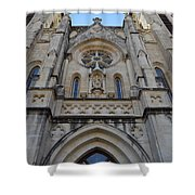 San Antonio Church 02 Shower Curtain