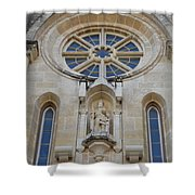 San Antonio Church 03 Shower Curtain
