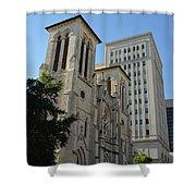 San Antonio Church 04 Shower Curtain