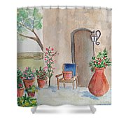 San Antonio Mission Shower Curtain