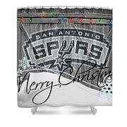 San Antonio Spurs Shower Curtain